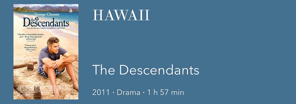 Film auf Hawaii, Film über Hawaii, The Descendants, George Clooney Hawaii