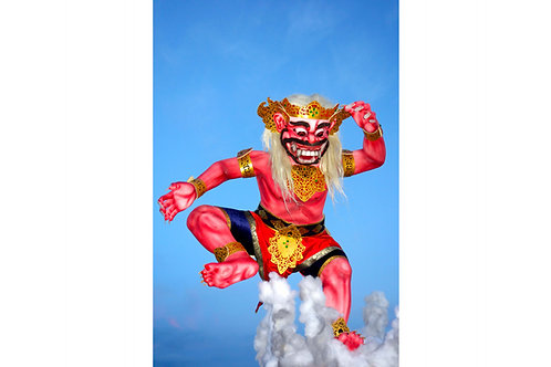 Ogoh Ogoh Bali, Nyepi Bali, Geister Bali