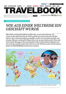 Weltreise-traum Travelbook, weltreise-traum bild Zeitung