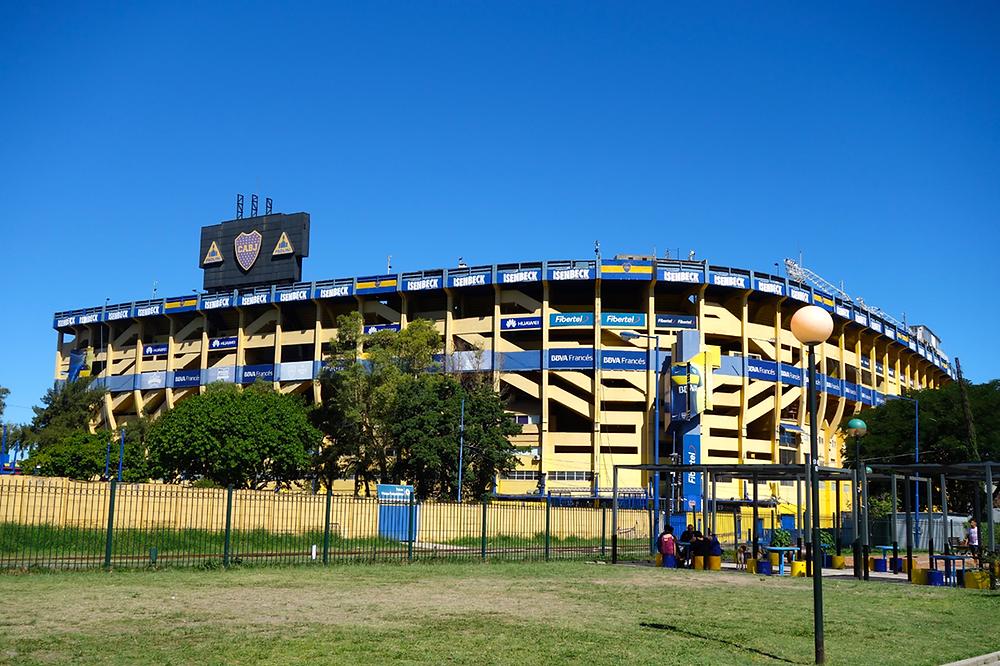 Buenos Aires - La Bocca, das Fußballstadion der Bocca Juniors, La Bombonera