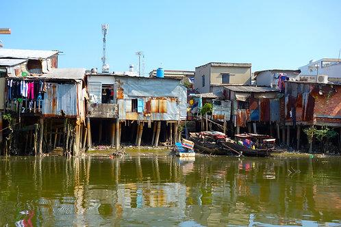 Mekong Delta Häuser, schönste Fotos Saigon Mekong Ho Chi Minh City