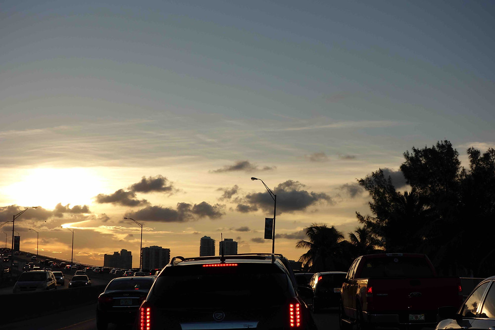 Verkehr Miami Beach