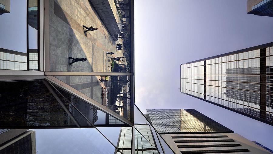 Hongkong auf einer Weltreise, Wolkenkratzer Hongkong, Metropole Hongkong