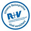 Weltreise Versicherung, R+V, Sicherungsschein, Insolvenzverischerung