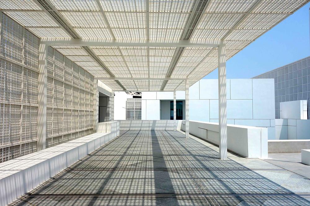 Besondere Architektur Louvre Abu Dhabi