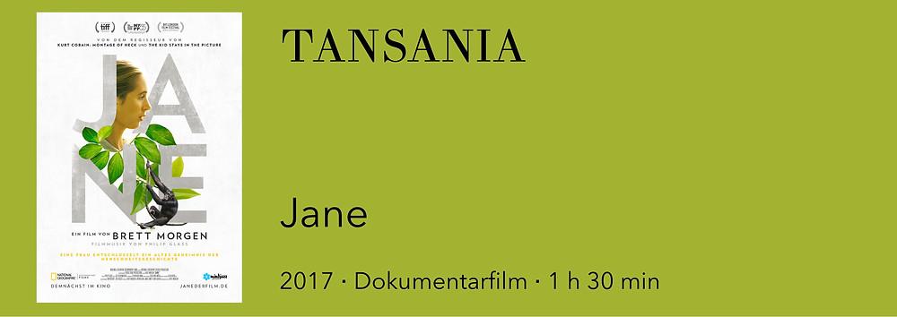 Film Tansania, Film über Tansania, Film in Tansania, Film über Schimpansen, Film Jane Goodall