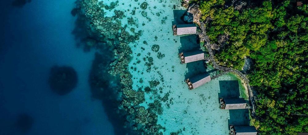 Bawah Island Reserve, Indonesien