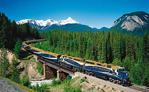 Zug in Kanada, mit dem Zug durch Kanada, Luxuszug in Kanada