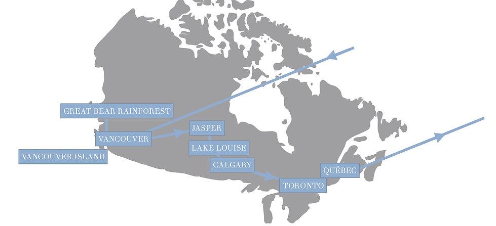 Kanada Rundreise, Luxusreise Kanada, Individualreise Kanada
