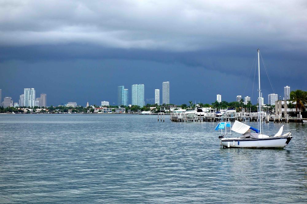 Gewitterstimmung in Miami Beach