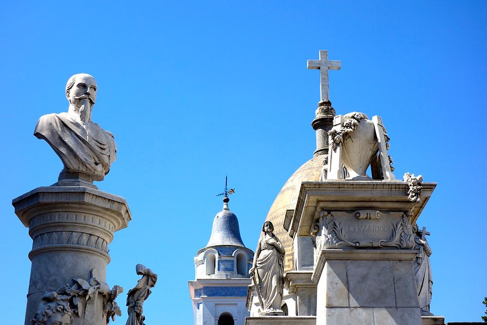Buenos Aires - der Friedhof La Recoleta