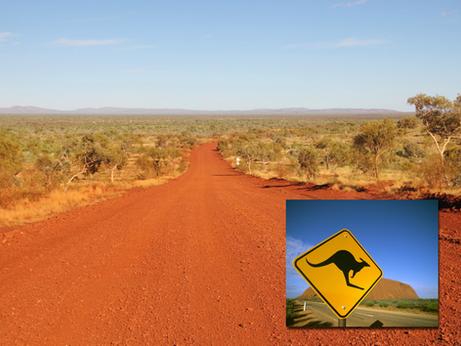Australien - die ganz eigene Definition von Größe und Weite