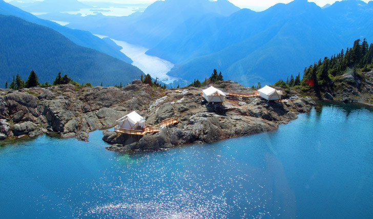 Glamping auf Vancouver Island/Kanada