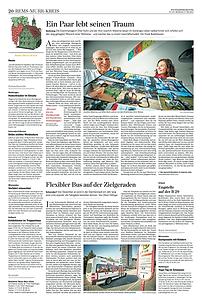 Weltreise-Traum Stuttgarter Zeitung