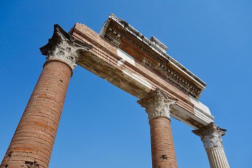 Forum Romanum Pompeji, Pompeji Säulen, schönste Fotos aus Pompeji