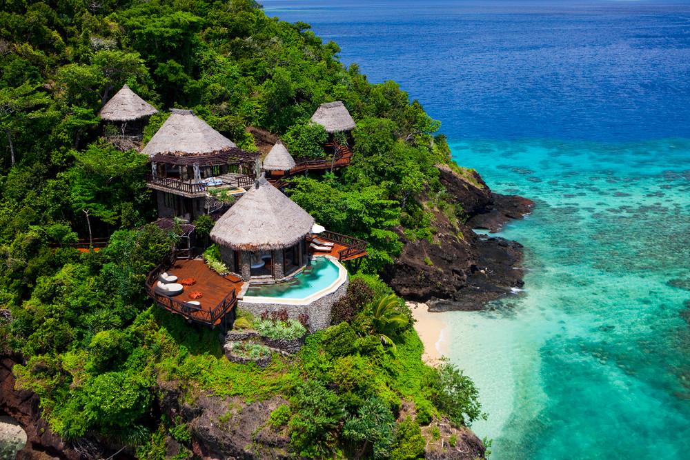 6 Sterne Resort Fidschi, die luxuriösesten Hotels der Welt, Wasserbungalow Fidschi, Überwasserbungalow Fidschi, Overwater Bungalow Fiji