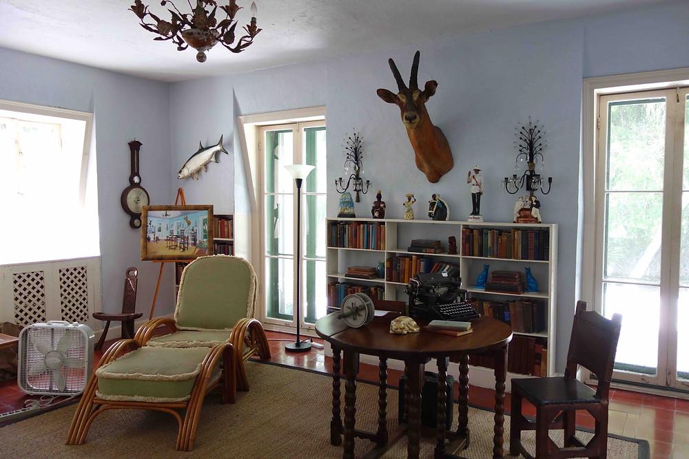 Arbeitszimmer von Ernest Hemingway in Key West