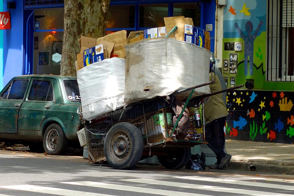 Die Papiersammler von Buenos Aires