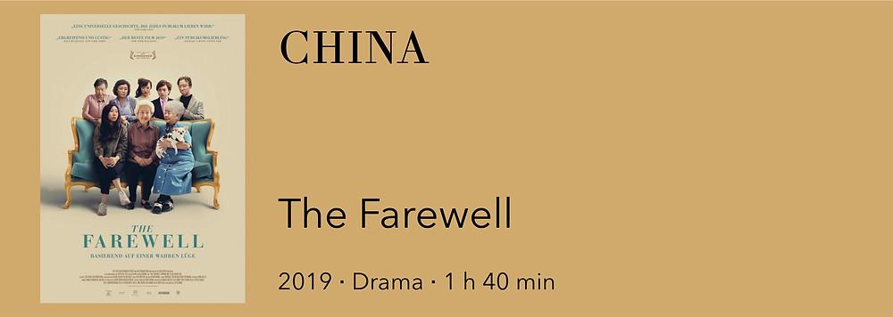 Film aus China, Film über China, Film The Farewell,