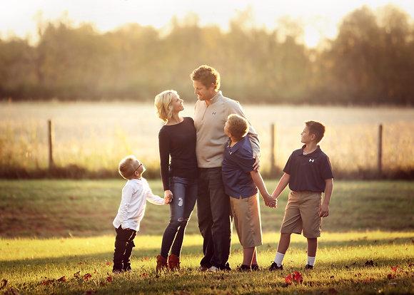 Location Family Portrait Session