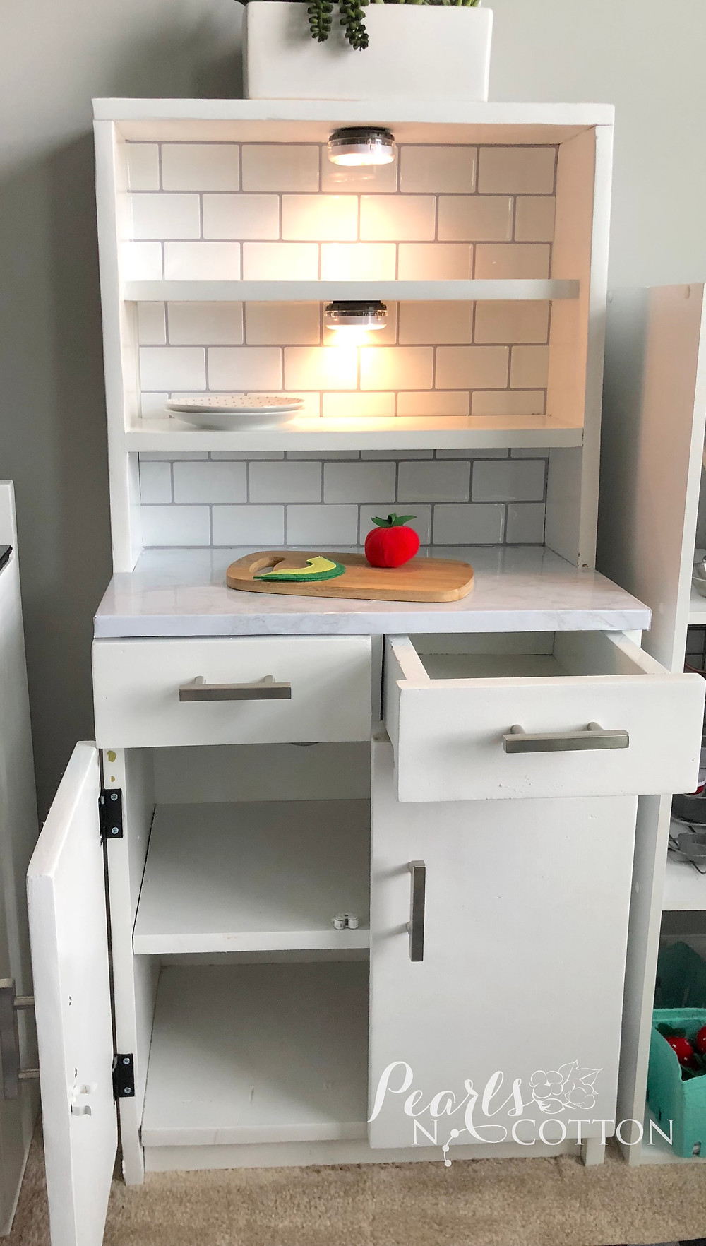 Finished Play Kitchen Cupboard