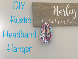 Rustic Headband Hanger