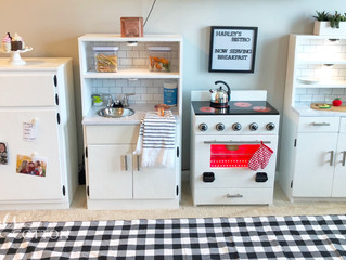 Kids Play Kitchen Renovation