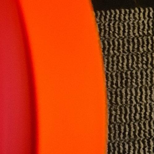 black adjustable Soft Touch Biothane Harness