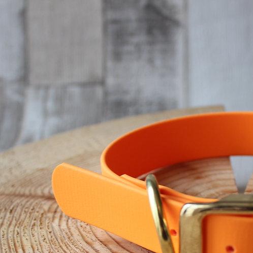 pale orange biothane lead