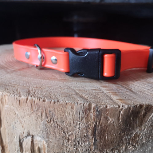 orange Soft Touch Biothane COLLAR