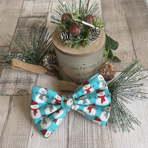 Frosty the Snowman Bow