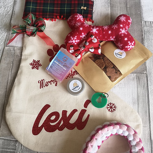 Filled Personalised Stocking