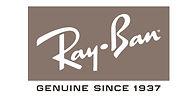 Ray Ban Logo Black and White 3x6 MyLens.