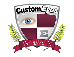 Custom Eyes Logo trade mark