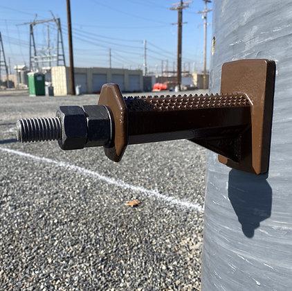 Pole Step - Aluminum Housing