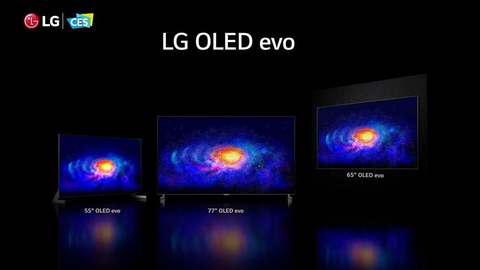 CES / LG - LG OLED evo models
