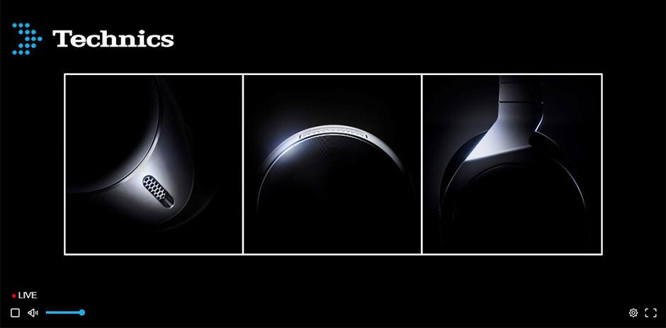 CES / Panasonic - Technics true wireless headphones