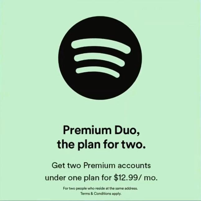 Spotify - Premium Duo