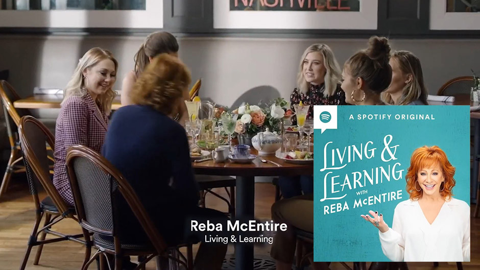 Spotify podcasts - Reba McEntire