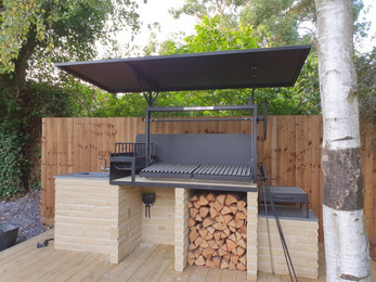 Outside Kitchen BBQ Grill