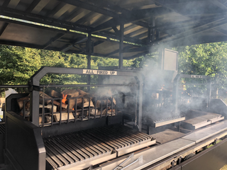 Catering Trailer Grill