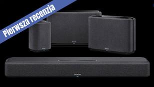 DENON Home Sound Bar 550, czyli soundbar bez konieczności stawiania subwoofera pod ścianą