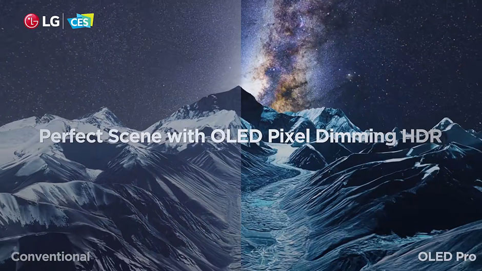 CES / LG - UltraFine Display OLED Pro hdr