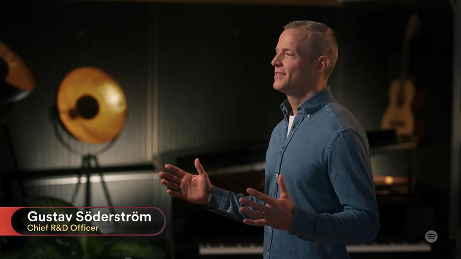 Spotify - Gustav Söderström, Chief R&D Officer