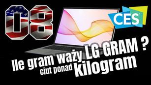 CES / LG – monitor dla kreatywnych z ekranem OLED PRO / 165Hz dla graczy, oraz bardzo lekkie laptopy