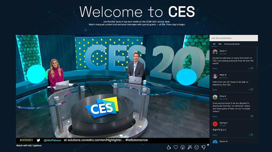 CES 2021 Television