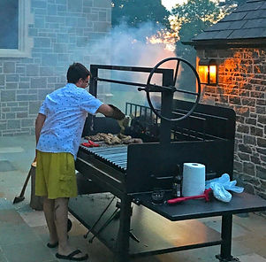 Mobile BBQ Grill