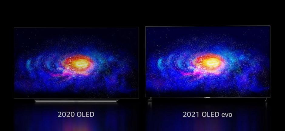 CES / LG - LG OLED evo 20% brighter