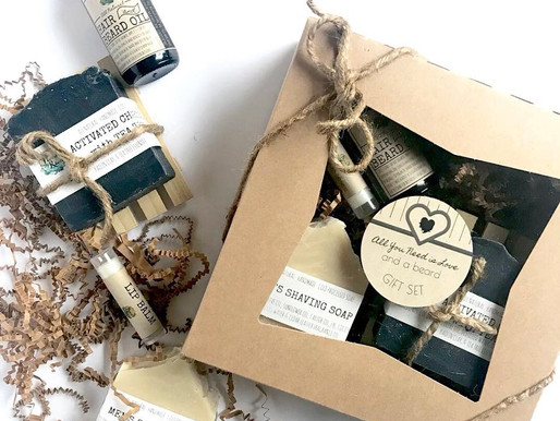 Jersey Girl Crafts Gift Set for Bearded Boos