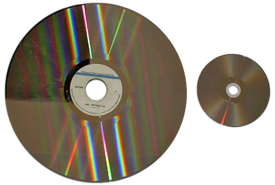 Laserdisc i DVD